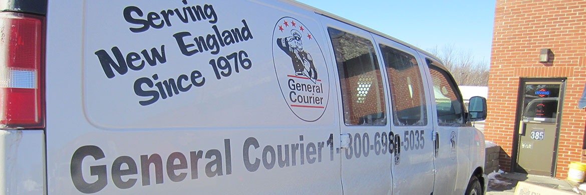 General Courier Delivery van
